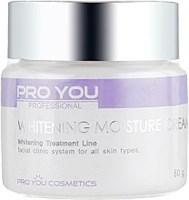 PRO YOU Крем увлажняющий с осветляющим эффектом Whitening Moisture Cream 60 г