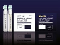 PRO YOU Двойной набор дневных и ночных ампул для сужения пор и коррекции овала лица Pore Fill Up Wrinkle Day&Night Ampoule Dual Set 8 шт.* 2 мл