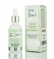 """Time To Grow Натуральный стимулятор для утолщения и роста волос """"Био-энерджи"""" 50 мл"""