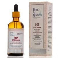 Time To Grow SOS для волос - интенсивное средство против выпадения волос 100 мл